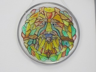 glass painitng face