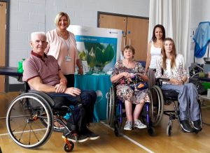 Photo of group of people at incontinence day