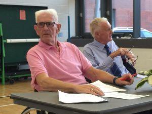 Kevan Baker and Roger Ellis