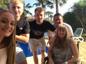 Photo of the Scarth family